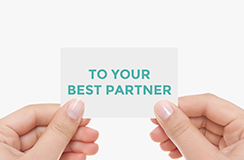 TO YOUR BEST PARTNER