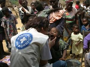 悲惨な環境下で苦しむ人々に、医療支援を!