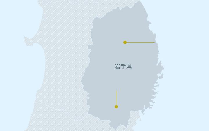 東北エリア地図
