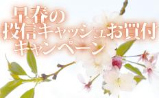 早春の投信キャッシュお買付キャンペーン